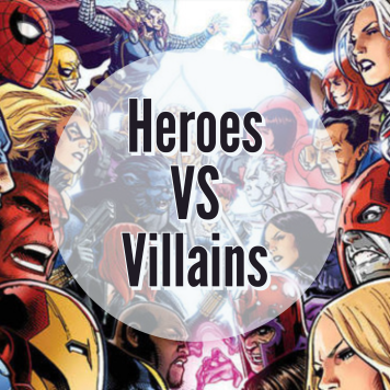Image result for super heroes vs villains